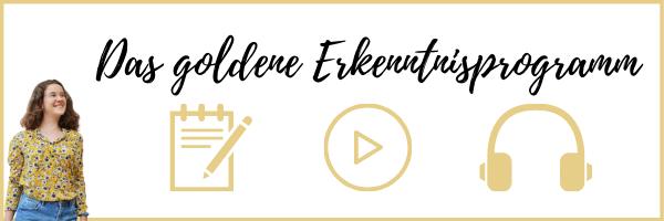 Jahr planen mit dem goldene Erkenntnisprogramm und zusätzliche Motivation erhalten!
